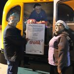 Texas Trust Credit Union unloads toys donations at Toys for Tots