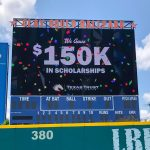 University of Texas at Arlington Clay Gould Ballpark video board